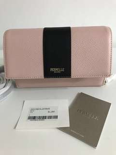 Brand new Pernelle Milano wallet with strap bag