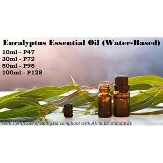 Eucalyptus Essential Water-Based (Organic HYDROLATE)