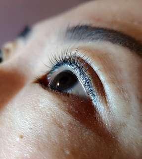 🚚 Eyelash Perming+tint
