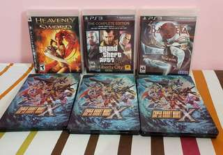Brandnew Ps3 Games (GTA, Heavenly Sword & Bayonetta)