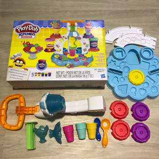 Play Doh Set kitchen creations