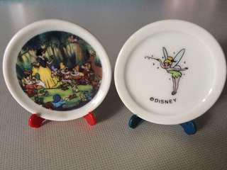 Disney collectible mini plate