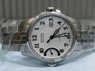Bulova ~ calibrator 當今世上只有這款錶有外置微調功能,9字位就是 calibrator, 自動機械 全新 說明書原裝盒吊牌齊全, 零售價約萬五元左右。