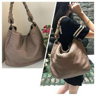 👉MURAH - BV Hobo Light Brown #clE