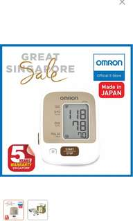 Omron upper arm blood pressure monitor
