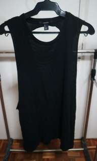 Forever 21 black loose top
