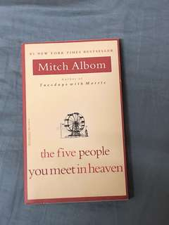 Mitch album - the five people you meet in heaven