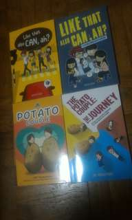 The potato couple and like that also can,ah? Comic books