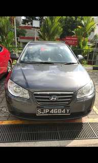 Hyundai Avante for Grab or Avante rental (long term rental)