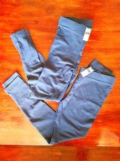 Dunnes Store blue leggings *bought in Ireland*