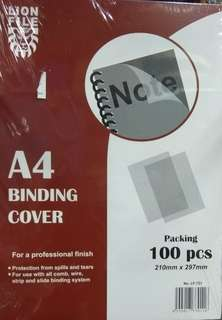 A4 Binding Cover