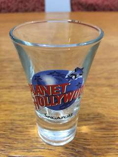 Planet Hollywood Singapore shot glass