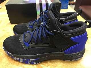 愛迪達 D Lillard 2球鞋 型號B42384 US12