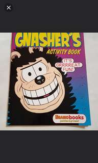 ⛤ BN Gnasher's Activity Book