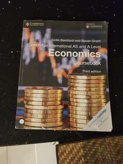 Cambridge International AS and A Level Economics Coursebook (Third Edition)