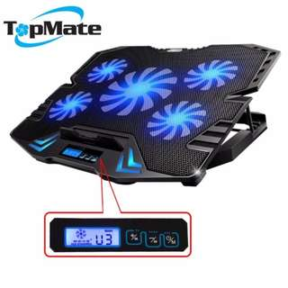 #10 Gaming Laptop Cooler with LCD Screen