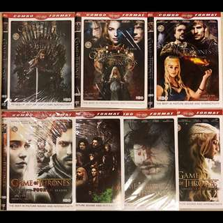 Dvd Film Serial Game of Throne