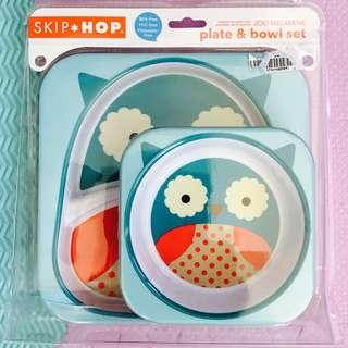 BRAND NEW Skip Hop Zoo Plate and Bowl Set