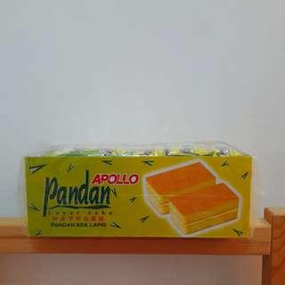 馬來西亞APOLLO 斑蘭蛋糕