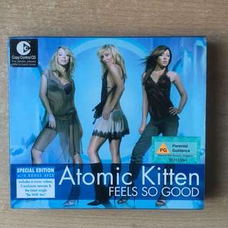 🚚 Atomic Kittens Feels So Good Special Edition Music CD