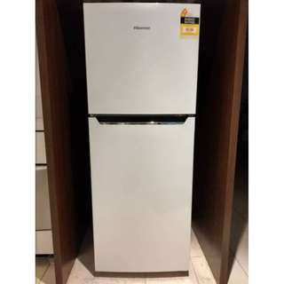 230L Top Mount Refrigerator Hisense (HR6TFF) Very GD condition