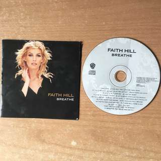🚚 Faith Hill Breathe Music CD