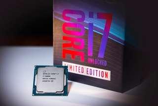 Intel i7-8086K  最後一粒 限量版Intel 40週年特別版