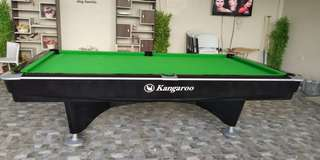 Refurbished Kangaroo Billiard Table
