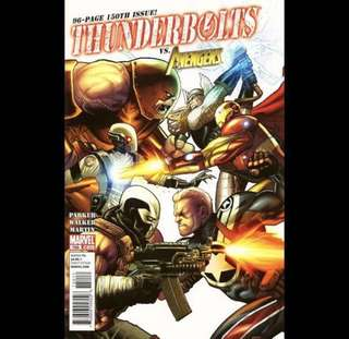 THUNDERBOLTS #150 (2011) vs. Avengers!