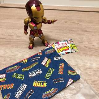 Marvel/Iron Man/ Superwoman 拉鍊袋仔