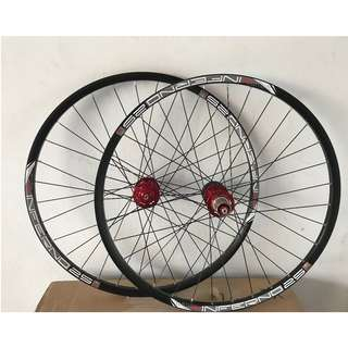 (Instock) Custom Build Chosen 4591/4597 Loud sound/Smooth Wheelset with Sun Ringle INFERNO 25 Rims (29er)