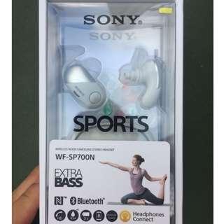 SONY WF-SP700N 無線藍牙耳機