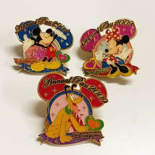 香港迪士尼徽章Disney pin