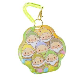 日本 Disney Store Ufufy Seven Dwarfs Passcase 小矮人八達通套