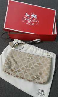 Coach dinner bag (New)