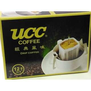 UCC 咖啡 濾掛式 經典原味 掛耳式