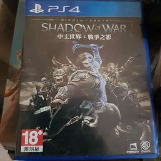PS4 Game-Shadow Of War