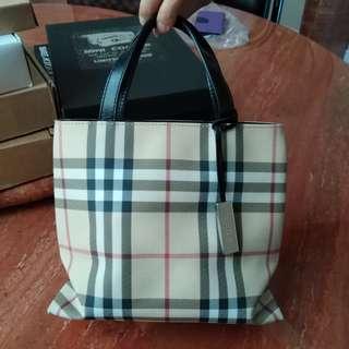 Burberry London Small Tote Bag 小手挽袋