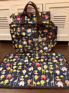 KIT Diaper Bag convertible to small pouch