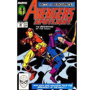 AVENGERS SPOTLIGHT #26 (1989) Acts of Vengeance