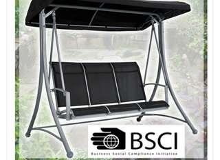 Patio Swing (3 seat) Outdoor garden