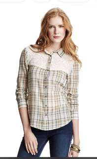 Free People Saddle Up Shirt