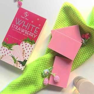 White Strawberry Soap (Skin Whitening Soap)