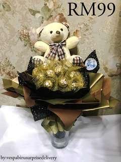 Clearance Ferero chocolate bouquet