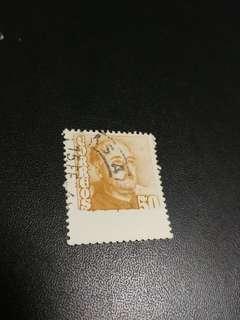 1948西班牙错體郵票