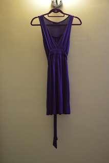 Twenty One Purple Dress