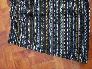 H&M - Aline skirt (Aztec/Tribal Print)