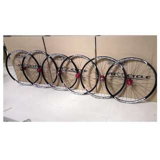 (Hot Order!) Professional Custom Build to order CHOSEN 4597/4591  Loud sound/Smooth Wheel set with Sun Ringle /INFERNO25/Helix TR25SL Rims/DUROC # Tubeless Ready #Improve Efficiency#