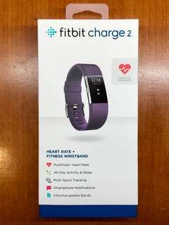 Fitbit Charge 2 Plum Band