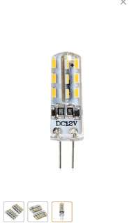 New G4 Base 24 LED Lamp Bulb 3W DC Warm White Light